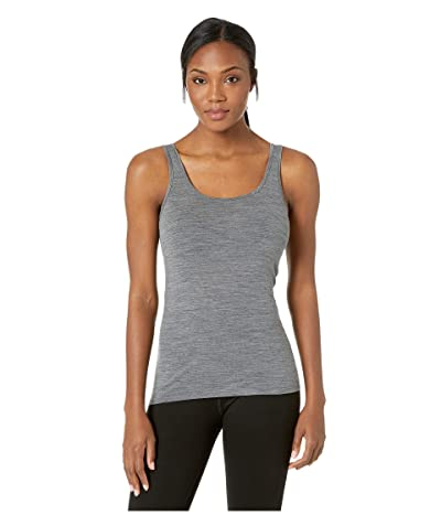 Icebreaker Siren Merino Tank Top (Gritstone Heather) Women
