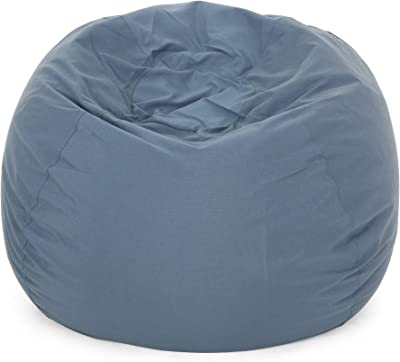 Amazon Com Big Joe Media Lounger Foam Filled Beanbag