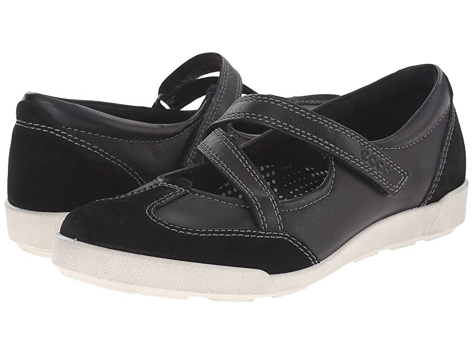 ECCO Crisp II MJ (Black/Black) Women