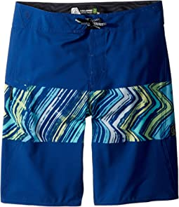 Volcom Kids - Macaw Mod Boardshorts (Big Kids)