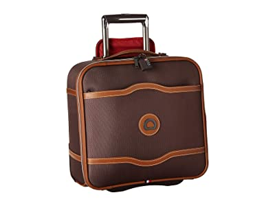 Delsey Chatelet Soft Air 2-Wheel Under-Seater (Chocolate) Carry on Luggage