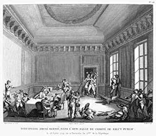 Maximilien Robespierre N(1758-1794) French Revolutionist The Arrest Of The Wounded Robespierre On 27 July 1794 (10 Thermid...