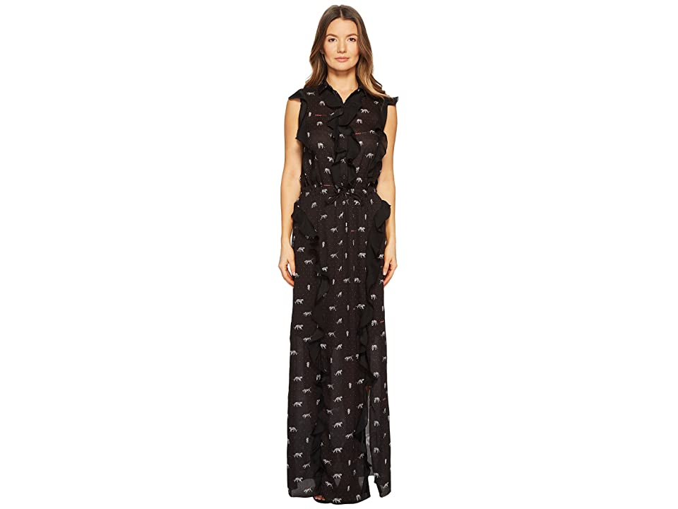 Versace Jeans Couture Maxi Dress (Black) Women