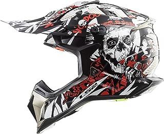 LS2 MX470 Subverter Voodoo Motocross Helm M 57/58
