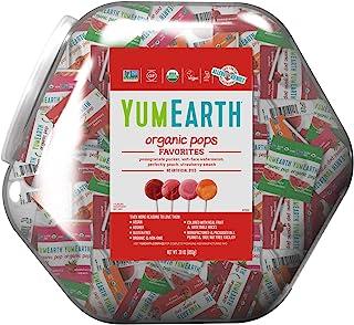YumEarth Organic Big Bin Assorted Lollipops, 850 g