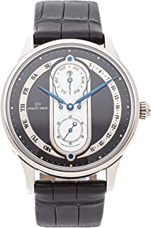 Jaquet Droz Astrale Mechanical (Automatic) Black Dial Mens Watch J008334202 (Certified Pre-Owned)