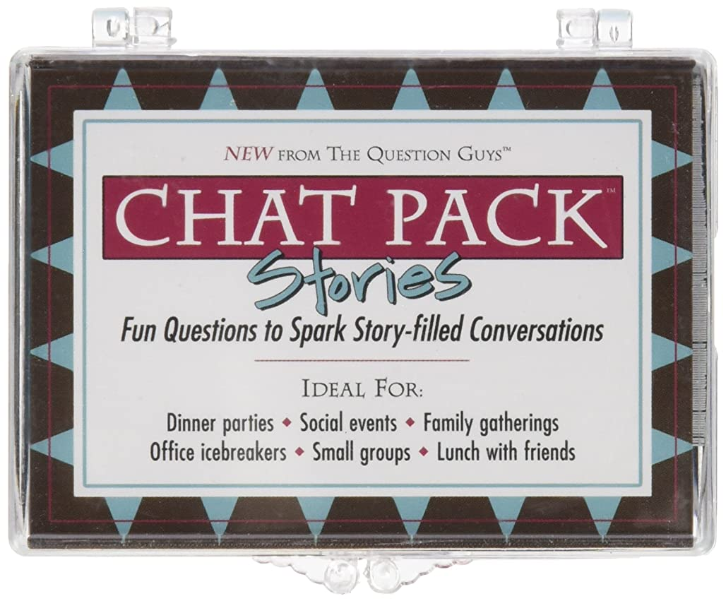 Chat Pack Stories: Fun Questions to Spark Story-filled Conversations drzwd2445