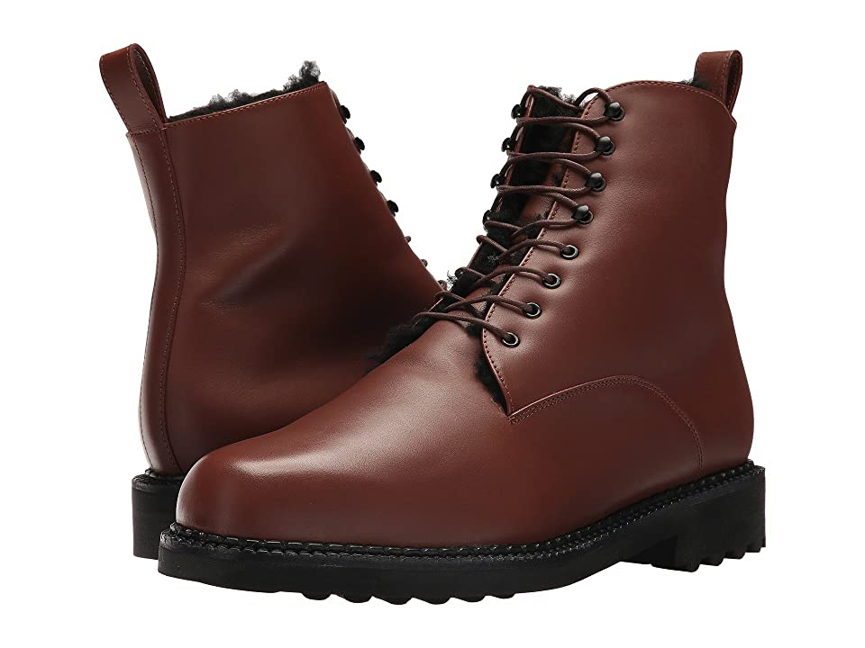 Clergerie Dace Boot (Chocolate) Men