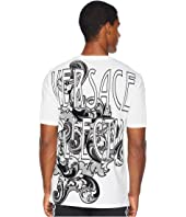 Versace Collection - Baroque Font Logo Tee