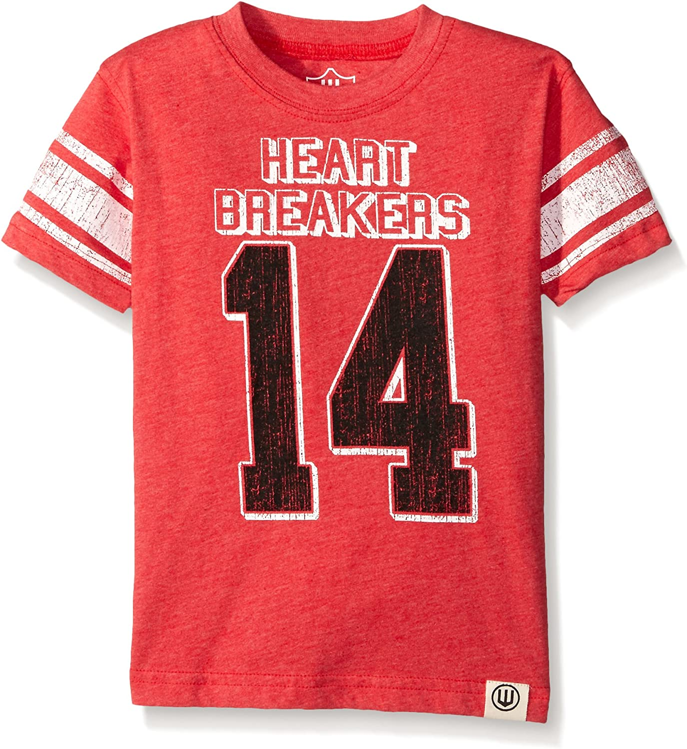 Wes and Willy Boys' Heart Breakers Blend Tee