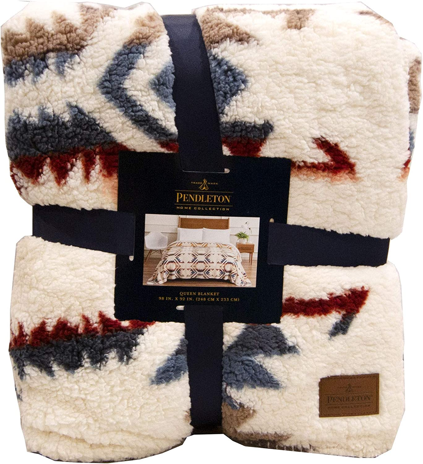 Pendleton Home Collection Twin Blanket - White Sand (Queen)