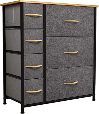 Chocolate 6-Drawer Double Dresser South Shore Furniture Summer Breeze Collection