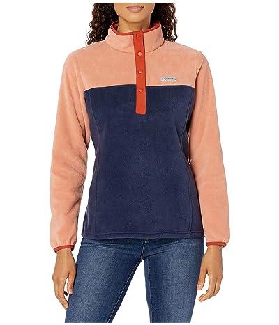Columbia Benton Springstm 12 Snap Pullover (Nova Pink/Dark Nocturnal/Dark Sienna) Women