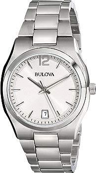 Bulova Women's Classic Analog Display Japanese Quartz White Watch