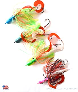 bucktail lures for flounder