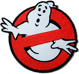 Ghostbusters Movie Patch 3.5x3 Inches Patch Sew Iron on Logo Embroidered Badge Sign Emblem Costume Dreamhigh_skyland