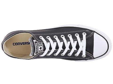 Ox Converse Taylor® Star® All Cuero Negro Chuck xPFqP6O