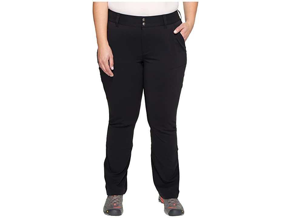Columbia Plus Size Saturday Trail Pants (Black) Women