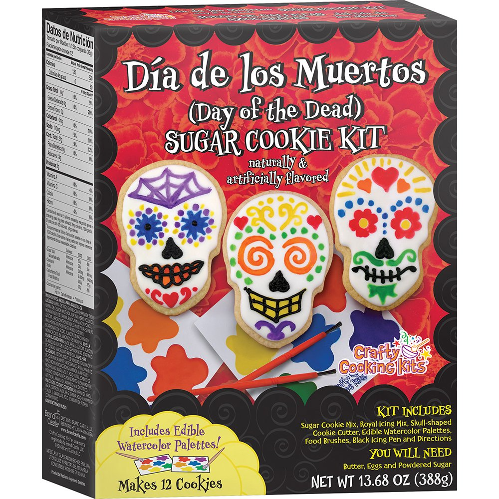 Crafty Cooking Kits Dia de los Muertos (Day of the Dead) Cookie Kit, 13.68 oz