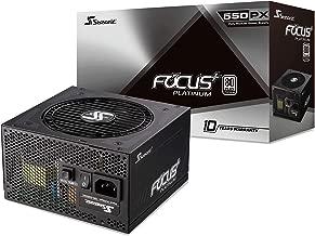 Seasonic FOCUS Plus 550 Platinum SSR-550PX 550W 80+ Platinum ATX12V & EPS12V Full Modular 120mm FDB Fan 10 Year Warranty Compact 140 mm Size Power Supply