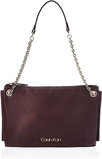 Calvin Klein Chained Convertible Shoulder Bag, Black, 50 cm, K60K606042