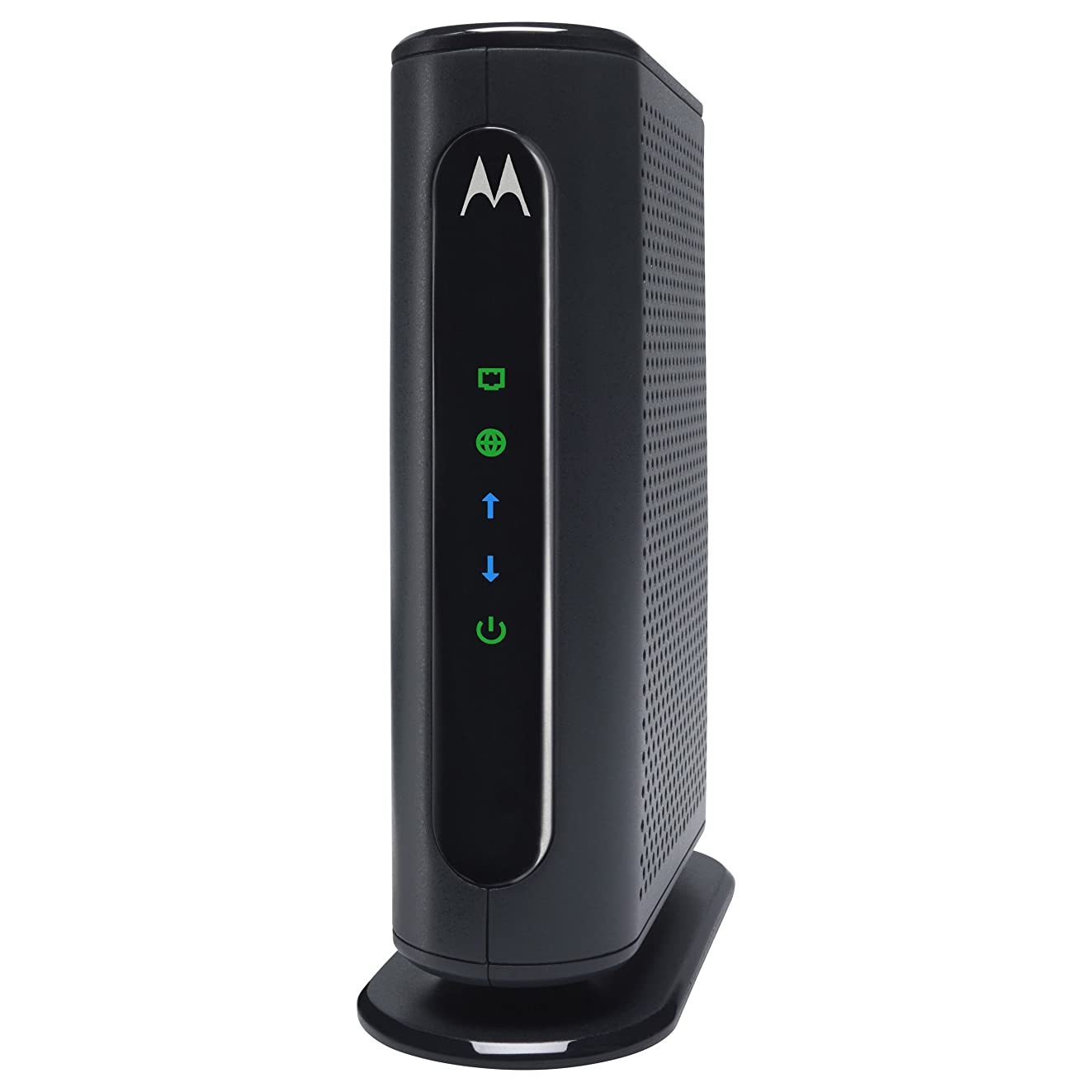 MOTOROLA 8x4 Cable Modem, Model MB7220, 343 Mbps DOCSIS 3.0, Certified by Comcast XFINITY, Time Warner Cable, Cox, BrightHouse, and More (No Wireless)