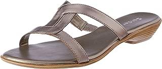 Sandler Salsa Women Shoes, Pewter Metallic