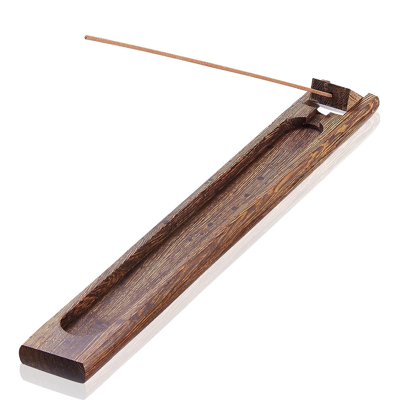 回路愛されし者神経障害(02) - UOON Antique Wood Incense sticks Burner Holder Ash Catcher (02)