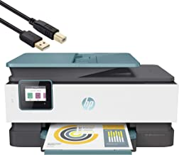 $299 » HP OfficeJet Pro 8028 All-in-One Instant Ink Ready Inkjet Printer - 4-in-1 Print, Scan, Copy, Fax Business Office Bundle -...