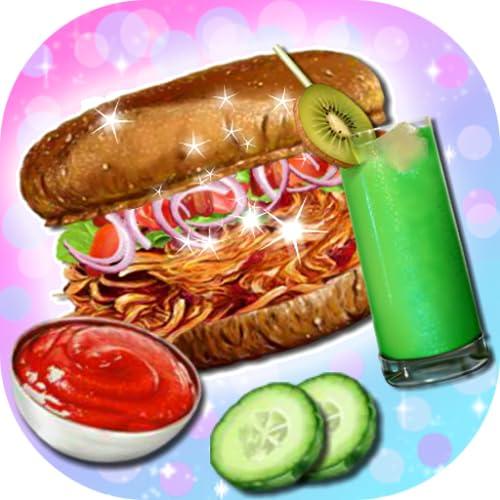 Grill-Hähnchen-Sandwich