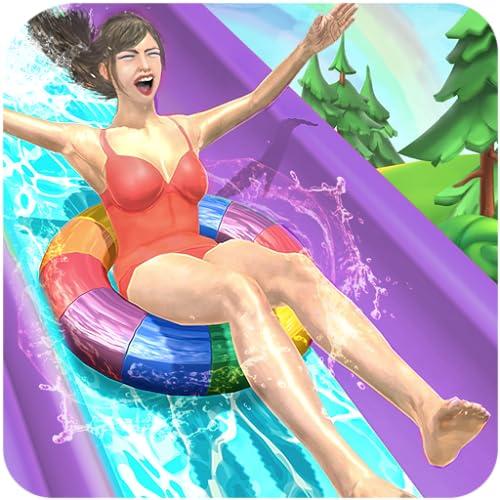 Wasserparks Extreme Slide Ride: Vergnügungspark 3D