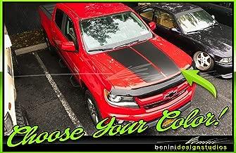 chevy colorado hood stripes