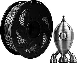 Xvico PLA 3D Printer Filament 1.75mm Filaments 3D Printing 1kg 2.2lbs for FDM 3D Printer, Silver