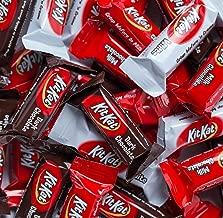 KIT KAT Chocolate Bars Miniatures, 64oz (4LB) Bulk Candy, Assorted Miniatures, (White, Milk, Dark Chocolate)