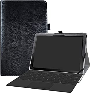 Samsung Galaxy Book2 12 Case,Bige PU Leather Folio 2-Folding Stand Cover for 12.0