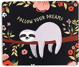 AOKSUNOVA Tapis de souris Office Petit design mignon 24 x 20 x 0,3 cm Tapis de souris avec motif