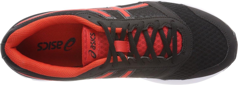 Amazon.com   ASICS Men's Patriot 9, Black/Fiery RED/White (29.5 cm ...