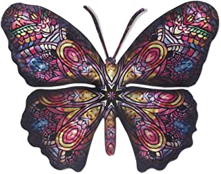 Next Innovations 3D Metal Wall Art - Butterfly Wall Decor - Patchouli Butterfly Handmade in The USA for Use Indoors or Outdoors - Multi Color