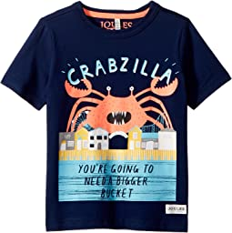 Joules Kids - Crabzilla Screenprint T-Shirt (Toddler/Little Kids/Big Kids)