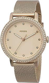 FOSSIL Women's ES4364 Year-Round Analog-Digital Quartz Pink Band Watch