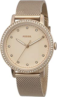 FOSSIL Women's ES4364 Year-Round Analog-Digital Quartz Pink Band Watch