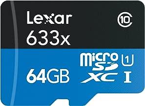 Lexar High-Performance 633X 64GB MicroSDXC UHS-I Card