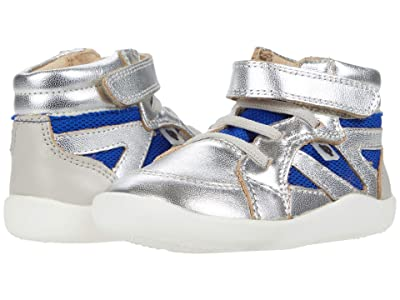 Old Soles High Ground (Toddler) (Silver/Cobalt Mesh/Gris) Boy