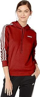 Women's Essentials 3-stripes Fleece Hoodie Sweatshirt