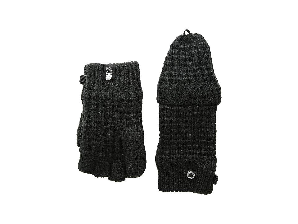 The North Face Kids Waffle Flip Mitt (Big Kids) (TNF Black) Ski Gloves
