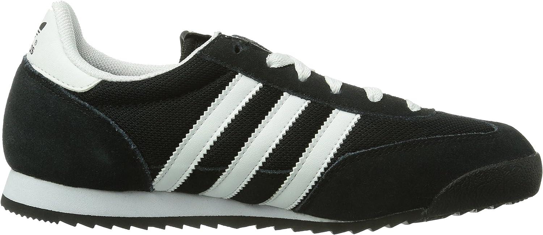 adidas Dragon, Baskets Basses Mixte, Noir (Black/White/Metallic ...