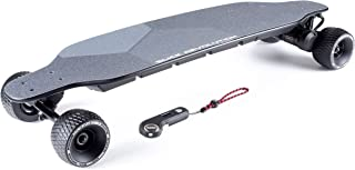 Slick Revolution Flex-Eboard 2.0 Electric Skateboard with 2 x 1200W Motors, 27mph (43km/h) top Speed and a 19 Mile (30km) Range.