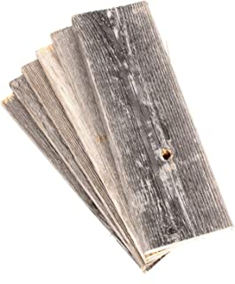 Barnwood Decor of OKC | Barnwood Craft Wood for DIY Projects [100% Authentic Reclaimed Weathered Wood] Rustic Weathered Reclaimed Wood Planks for DIY Crafts, Projects and Decor (6 Planks - 12 Inches)