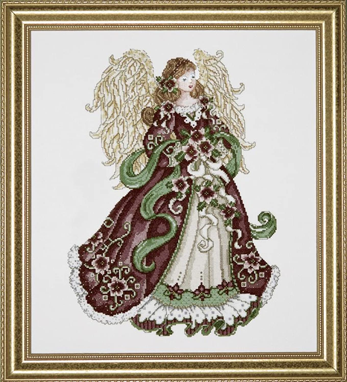 Design Works Angel of Joy, Counted Cross Stitch Picture Kit 5905, 16 by 18 inches, with Gift Card