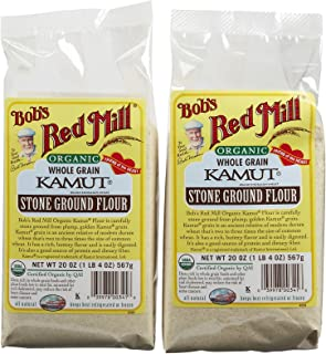 Bob's Red Mill Organic Kamut Flour - 20 oz - 2 pk